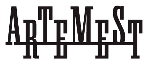 """Logo di """"Artemest"""", rivenditore ufficiale di Vener Tailo made art"""