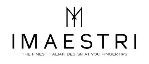 """Logo de """"IMaestri"""", rivenditore ufficiale di Vener Tailo made art"""